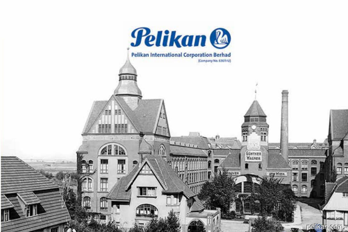 Stationery maker Pelikan surges as much as 53% in active trading