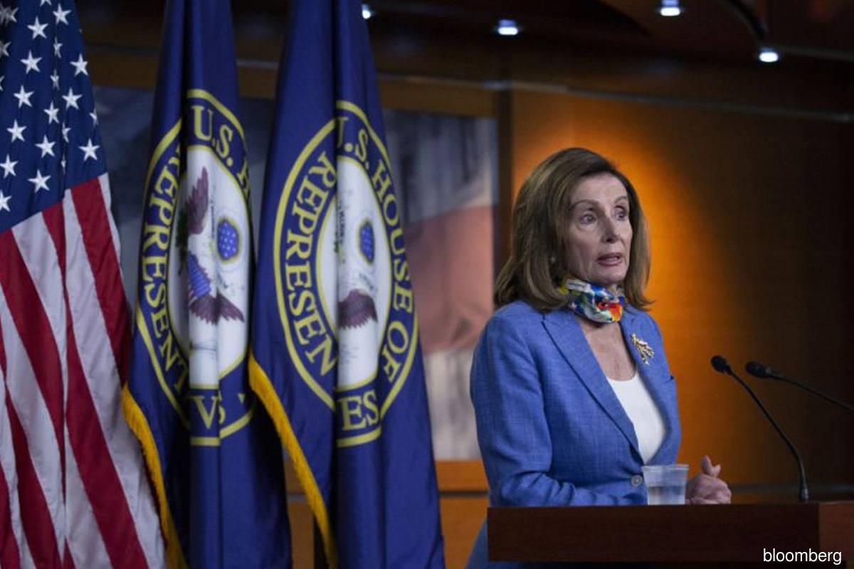 Firm linked to Pelosi's husband got virus loan, data show