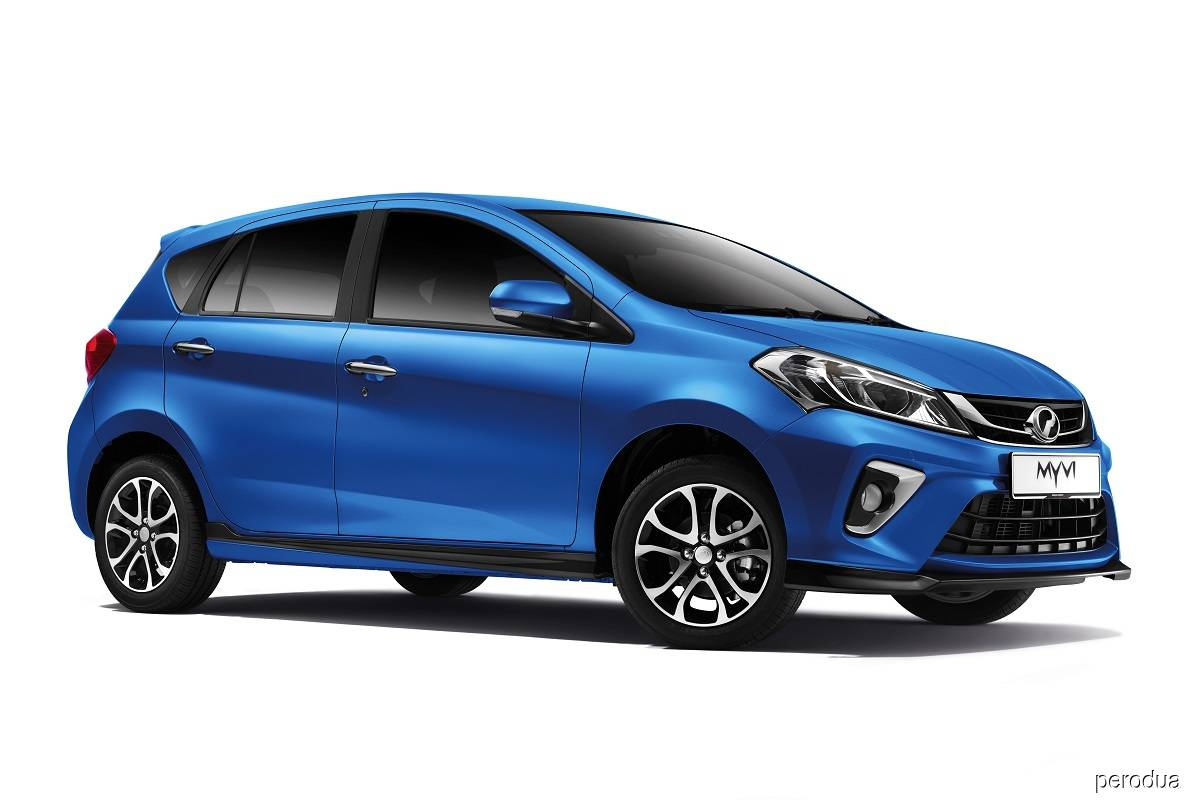 Perodua Myvi updated with more safety features, new blue colour