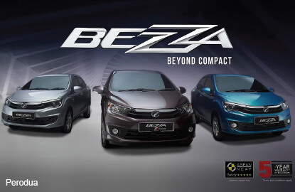 Orders for Perodua's Bezza hit 19,000 in three weeks
