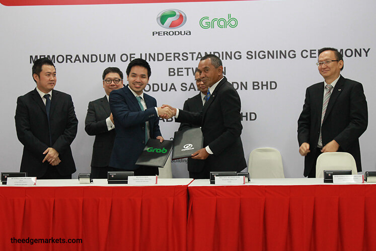 Perodua partners Grab to provide special price packages for its drivers