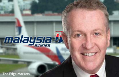 Malaysia Airlines appoints Peter Bellew as its new MD and CEO
