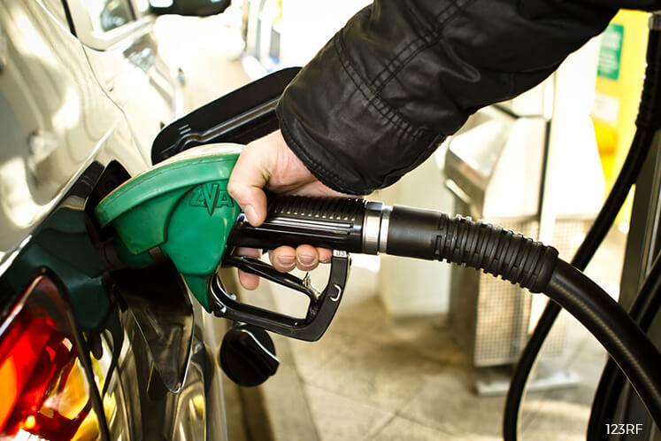RON97 up 1 sen to RM2.81, RON95 and diesel unchanged