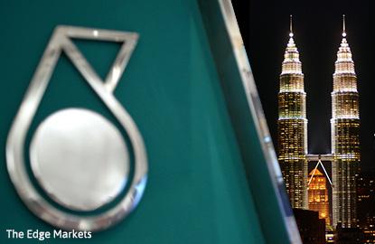 Shares of Petronas' units fall ahead of Opec output freeze talks