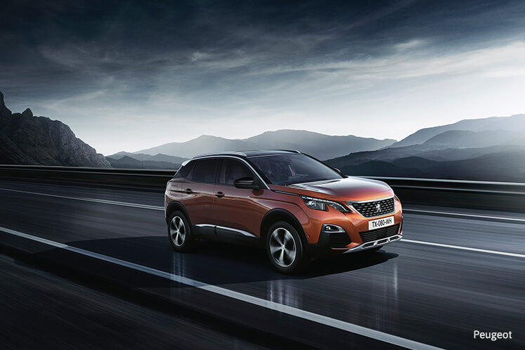 Peugeot 3008 crowned 2017's Car of the Year at Geneva auto show