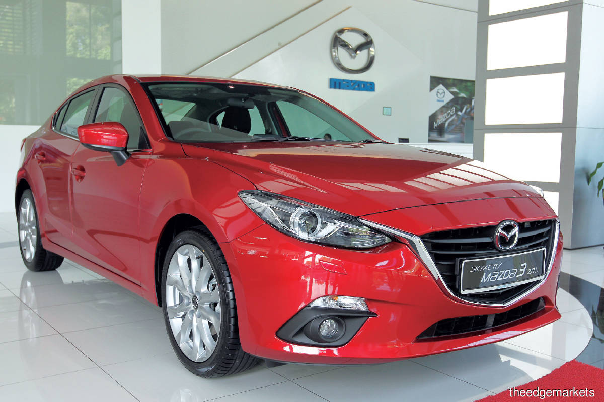 Sources say BAuto is the front runner for the franchises because of its success in growing the Mazda brand in Malaysia. (Photo by Suhaimi Yusuf/The Edge)