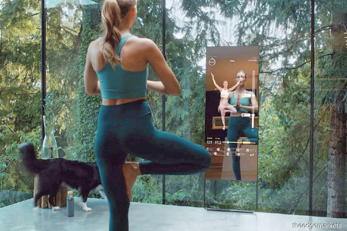 Lululemon's acquisition of Mirror will help the yoga-wear maker stay in front of its customers. (Photo by Mirror)
