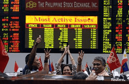 Philippines gains on technical rebound; Indonesia down