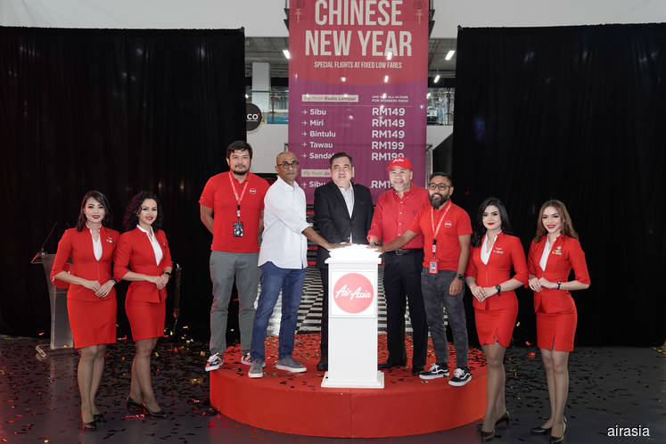 AirAsia adds fixed-fare late-night flights for Chinese New Year
