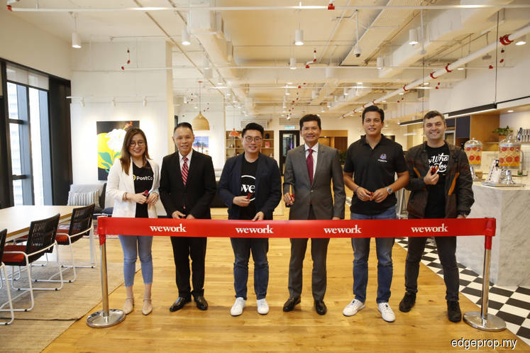WeWork Equatorial Plaza opens today