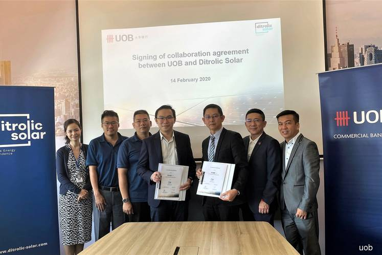 Uob Malaysia Partners Ditrolic To Offer Solar Power Systems To Its Clients The Edge Markets
