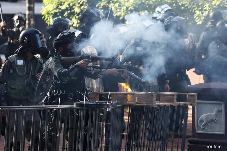 """U.S. condemns """"unjustified use of force"""" in Hong Kong: senior official"""