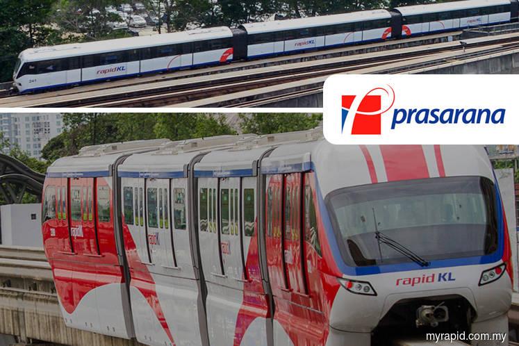 Prasarana targets 1.4 mil passengers a day using rail