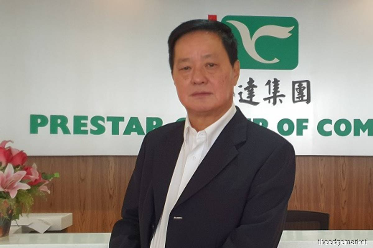 """Overall, the prospects in East Malaysia could easily last for another five to 10 years,"" said Prestar group managing director Datuk Toh Yew Peng. (File photo by theedgemarkets)"