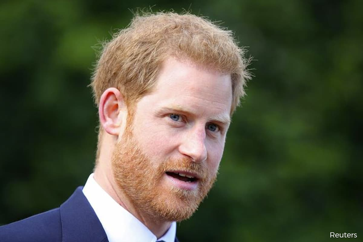 Prince Harry arrives back in the UK for Prince Philip's funeral