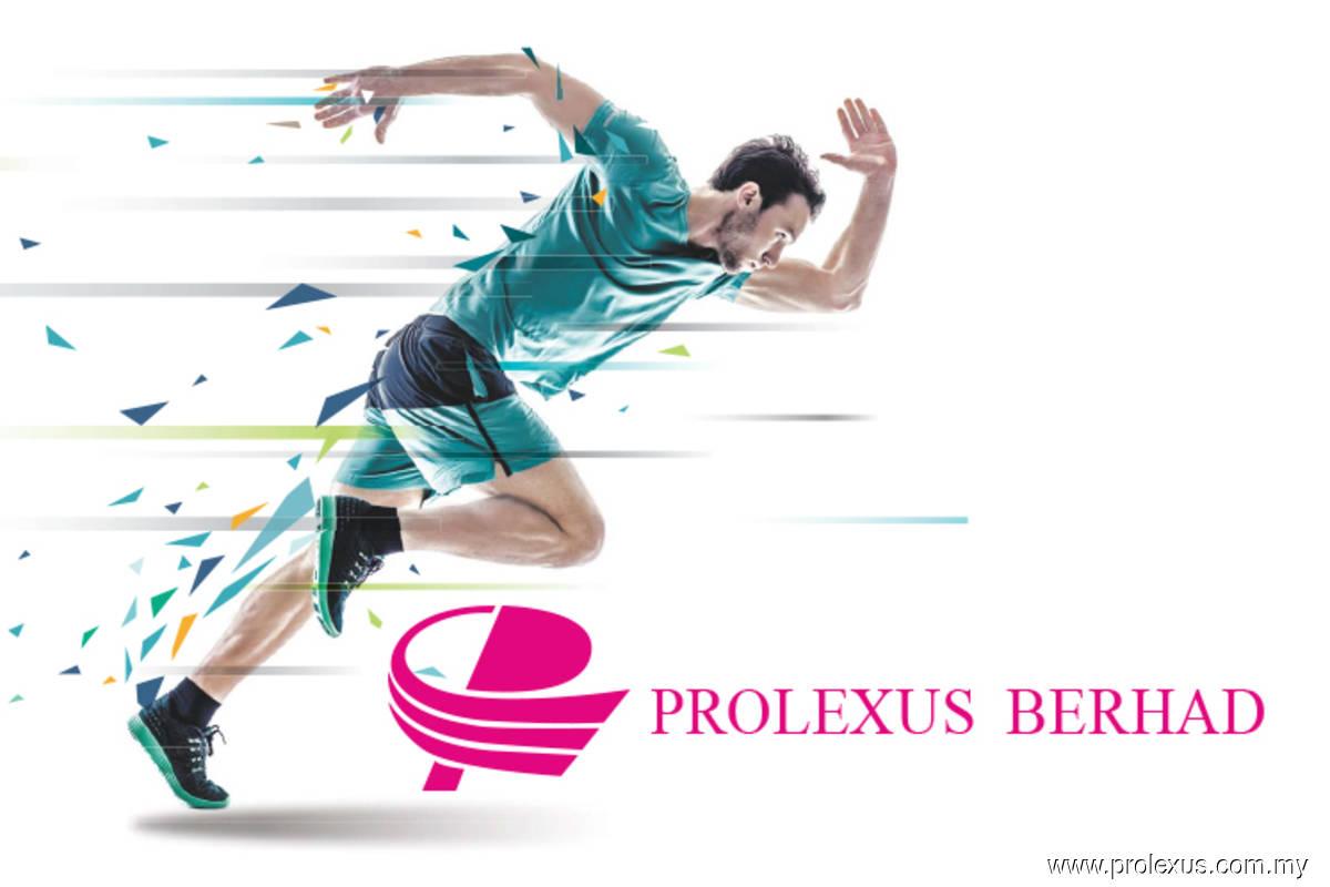 Clothes maker Prolexus rises on profit jump