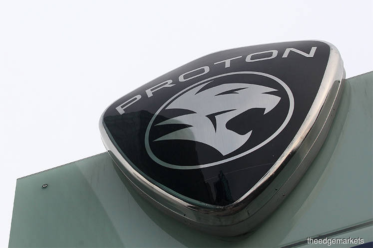 Proton car sales up 13% in October