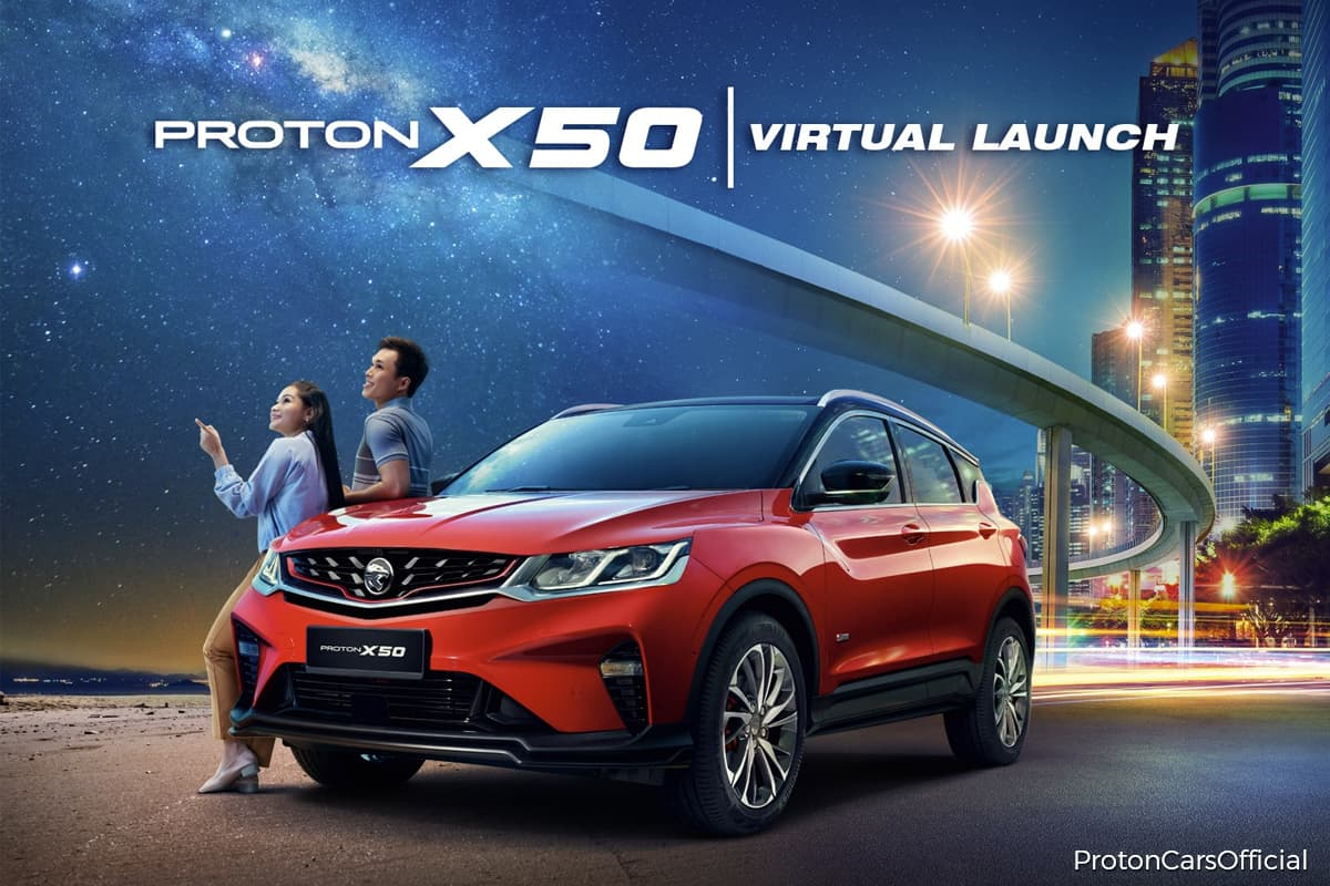 Proton launches X50 SUV, priced from RM79,200 | The Edge Markets