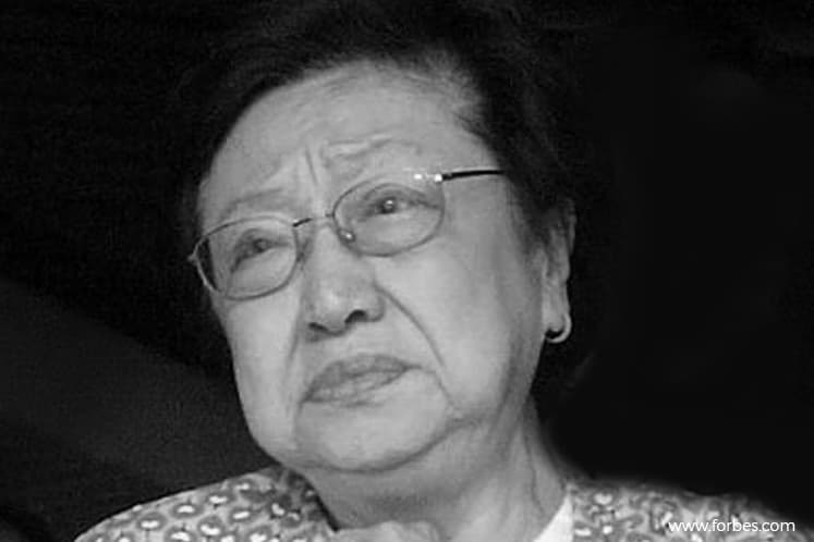 Late Genting founder's widow dies at 88