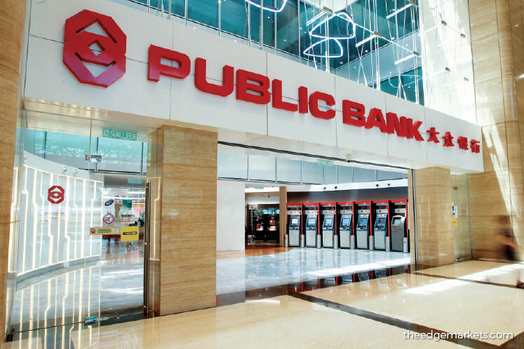 The management says after the February 2020 announcement, Public Bank received moratorium applications amounting to less than 1% of total loans. The Edge file photo