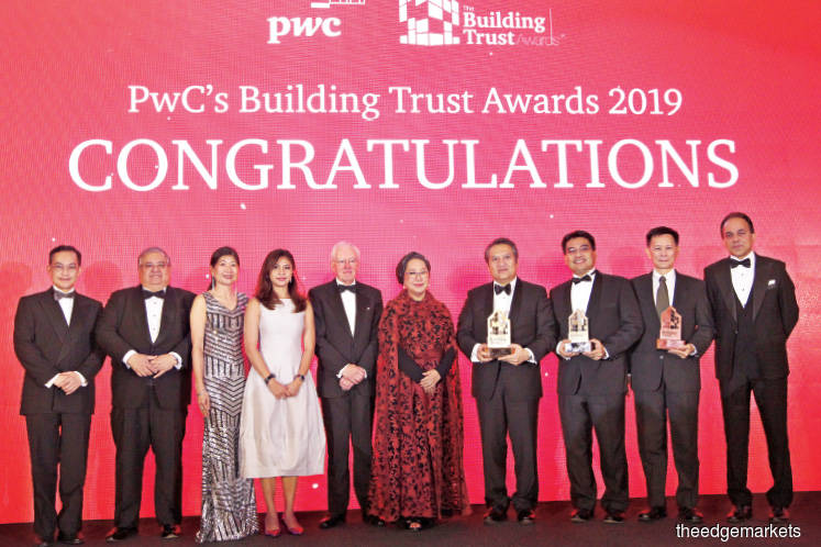 Maybank wins PwC's Building Trust Awards 2019