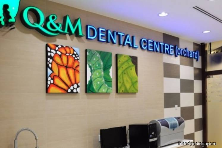 Q&M Dental reports 4% fall in 1Q earnings to S$3.6 mil on higher sales