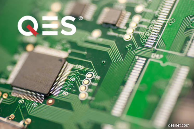 QES Group active, rises 1.47% on positive technicals