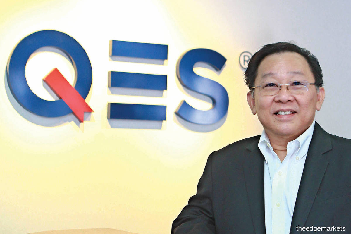 Chew: People often ask me whether QES can be as big as ViTrox, Pentamaster, Greatech and MI Technovation. I don't discount such possibilities. That's our plan actually. (Photo by Patrick Goh/The Edge)