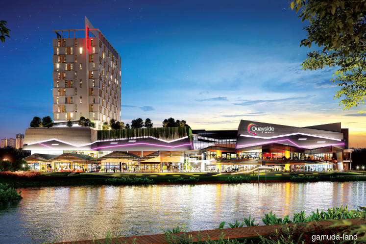 Quayside Mall secures 40 tenants before completion