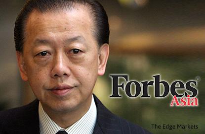 马新郭氏家族在亚洲最富有家族财富榜中名列第七