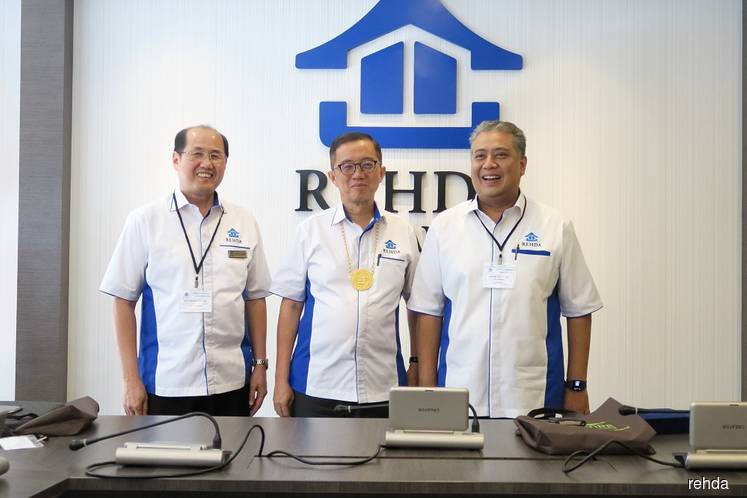 Rehda welcomes new president and council members