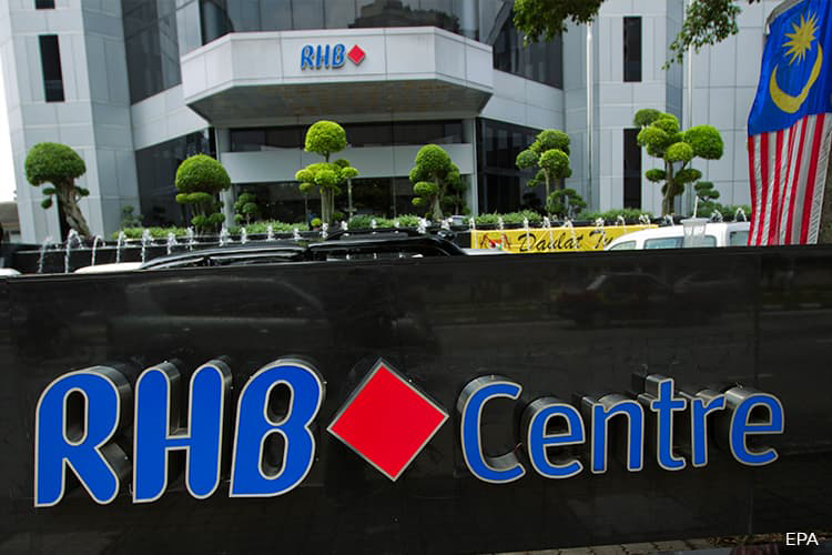 RHB Bank jumps 3% climbing the most in 2019