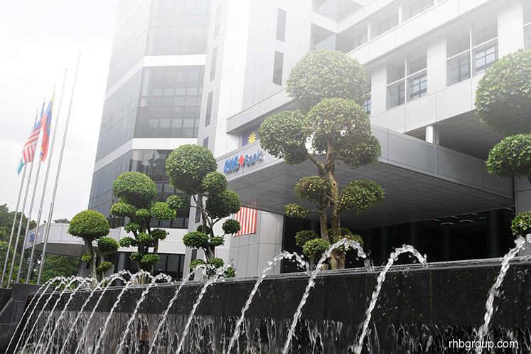 RHB Bank 3Q net profit slips 3.26% to RM488.83m on higher impairment, expenses