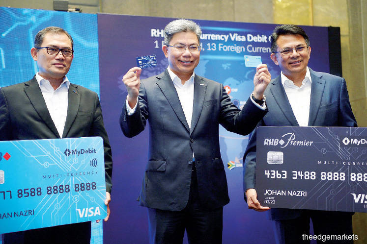 RHB launches debit cards supporting 13 foreign currencies