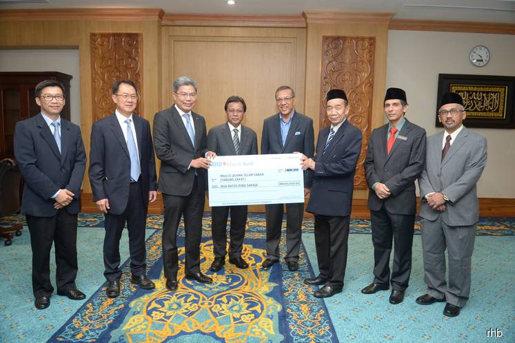 RHB contributes RM200,000 in zakat to Sabah