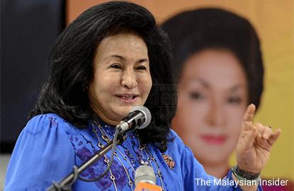 Task force reveals Rosmah's bank account also under investigation
