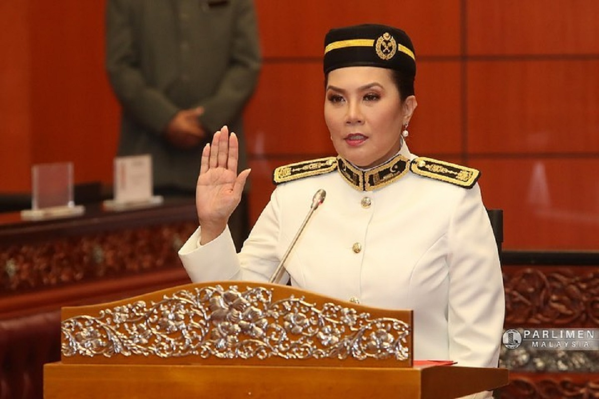 Ras Adiba Radzi was sworn in as senator at Dewan Negara on May 20.