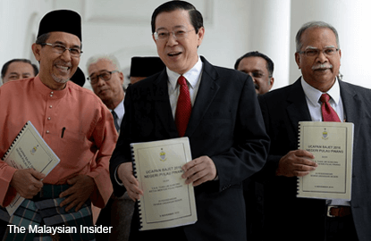 Penang tables a larger Budget 2016