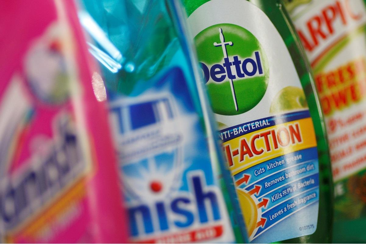 Reckitt lifts sales view as coronavirus spurs demand for Dettol, Lysol