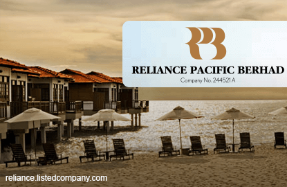Reliance Pacific CEO disposes of 18.7% stake for RM36m