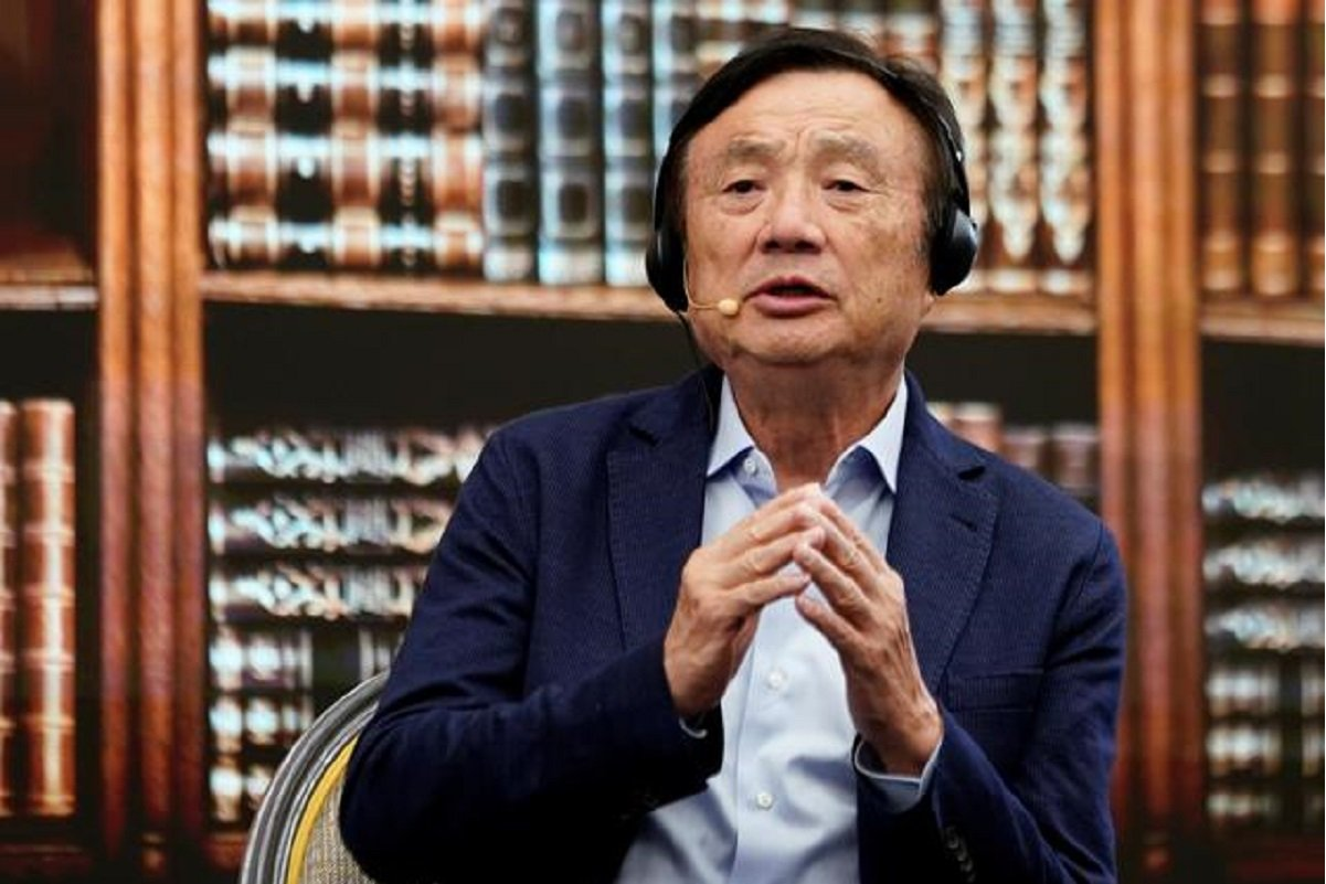 Huawei founder Ren Zhengfei (File photo by Reuters)