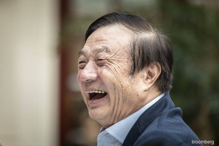 Huawei founder says US can't crush company, BBC reports