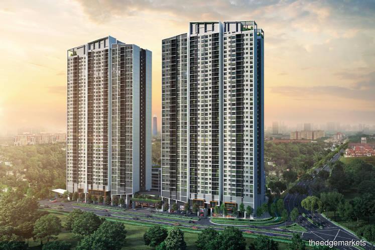 Block A of Residensi Ava at Kiara Bay 40% sold