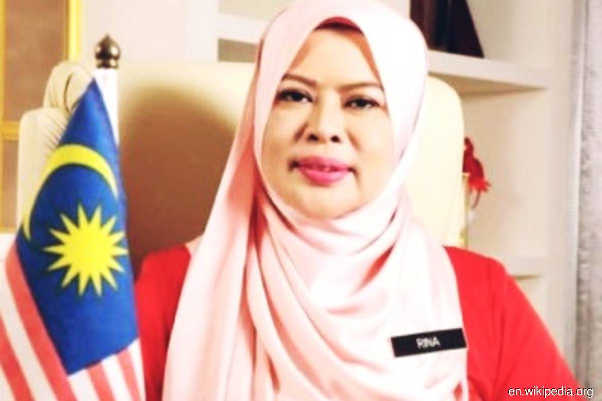 Women, Family and Community Development Minister Datuk Seri Rina. Mohd Harun