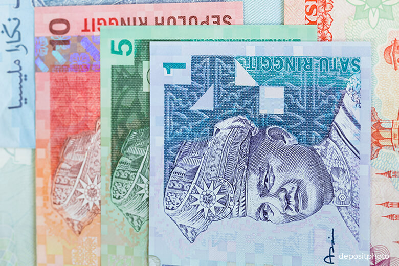 Ringgit higher on lacklustre demand for greenback