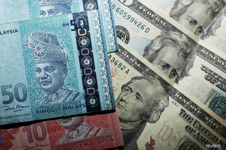AmBank Research expects ringgit to trade between 4.2066 and 4.2256 today vs USD