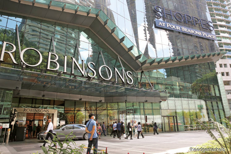 Robinsons may close Four Seasons Place store because of poor footfall