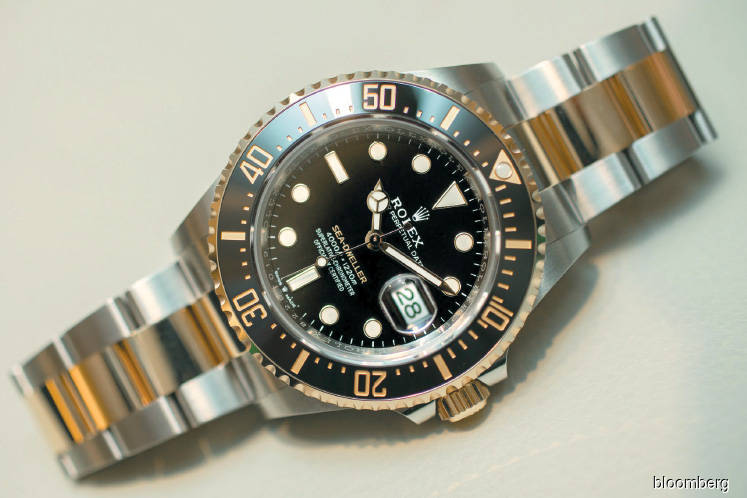 A two-tone Rolex Sea-Dweller the first ever