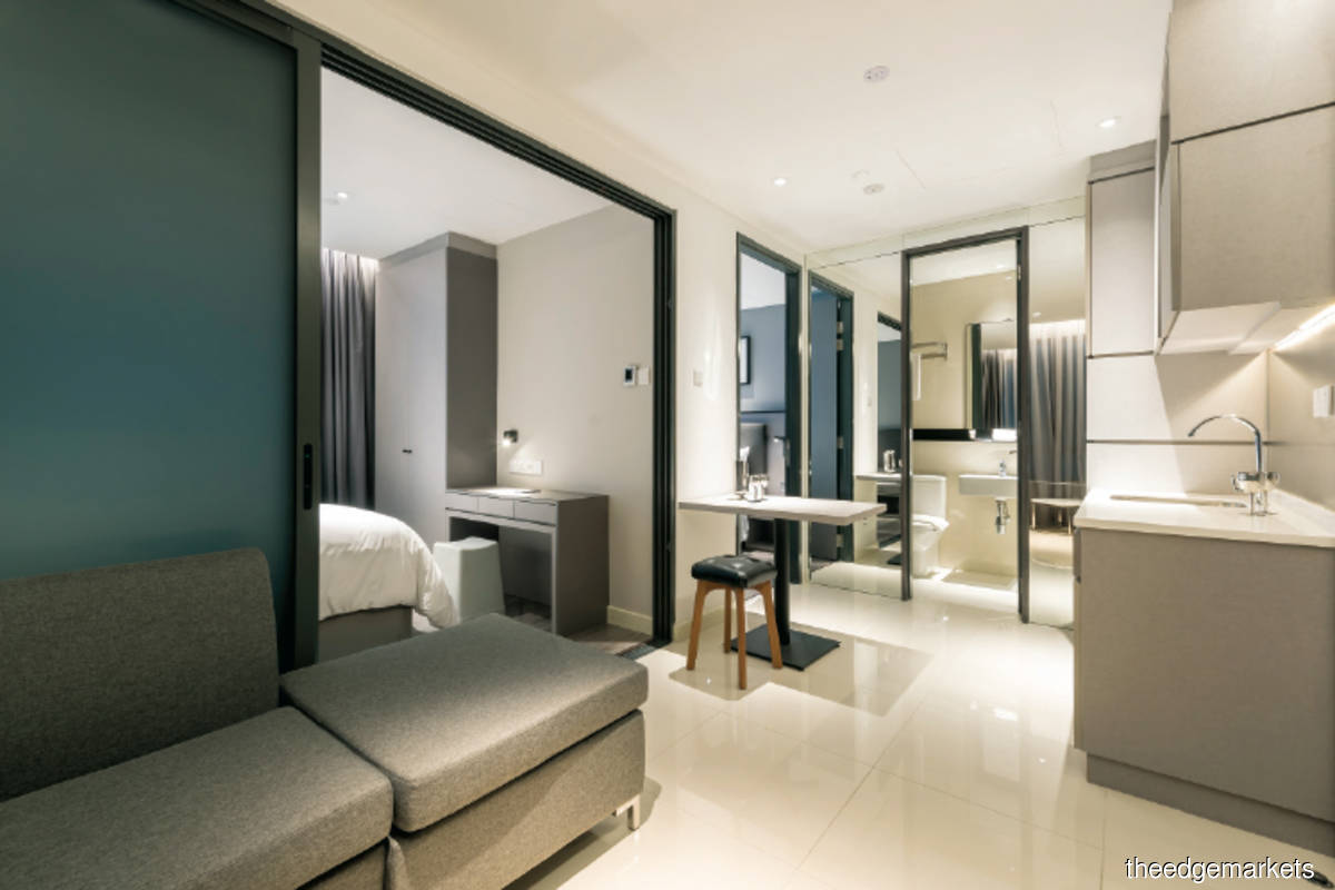 Room rates at Komune Living start from RM1,900 a  month (Photo by UOA Hospitality)