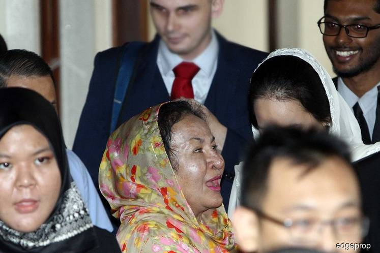 Rosmah's statement to be recorded by police next week